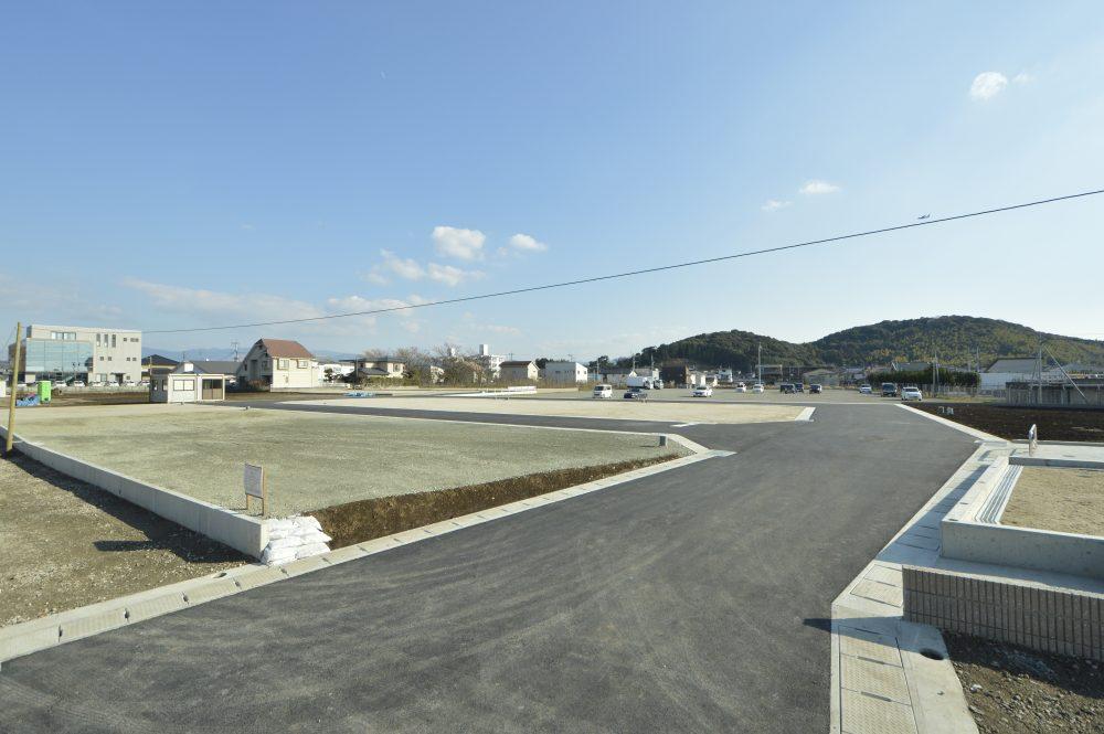 第一空港線沿いに誕生した大型分譲地!
