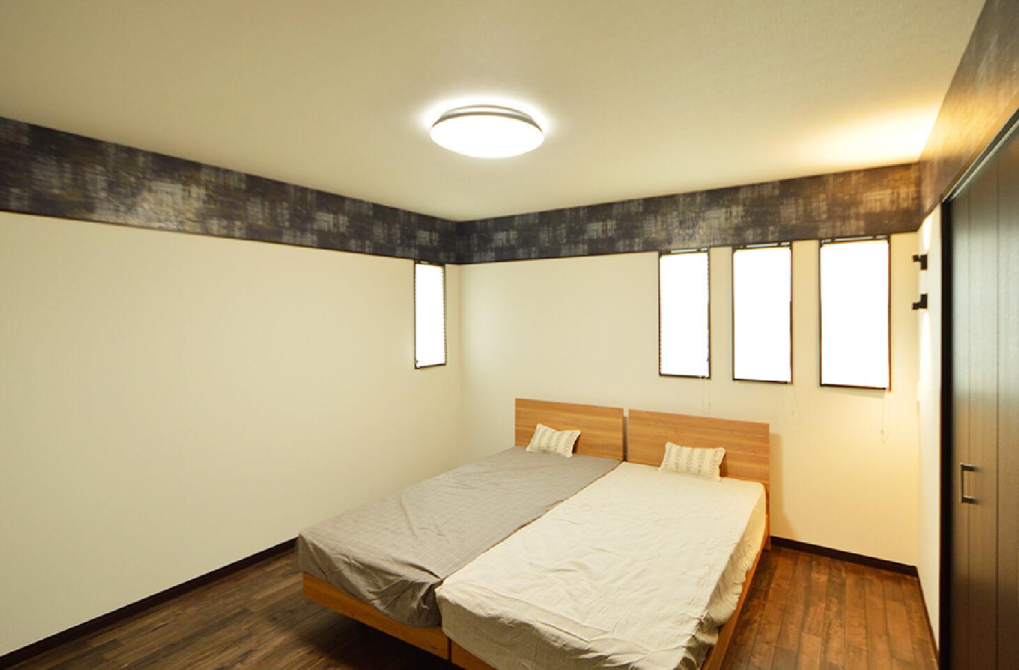 戸島町ニュータウン17号地 寝室